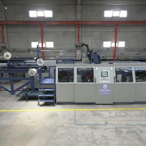 Automatic single reel winding line S/500-1000